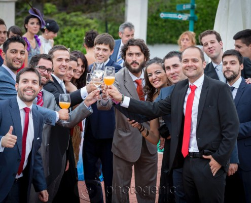 Los amigos de los novios Photogenic