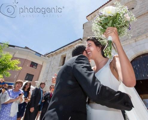 Salida de la boda Photogenic