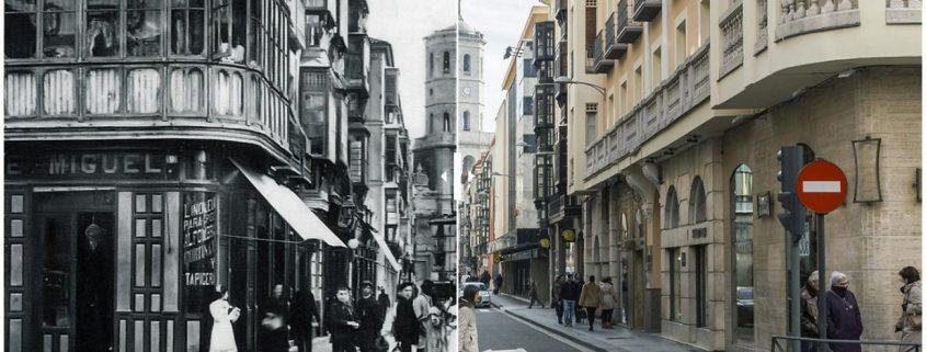 Calle Regalado de Valladolid