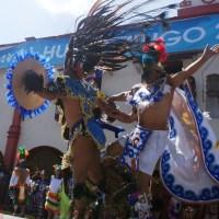 Historia y leyenda en Carnaval Poblano