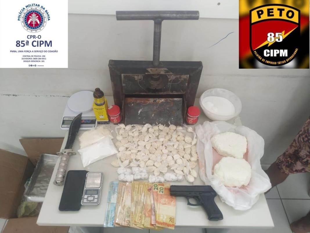laboratorio cocaína Luis eduardo magalhães