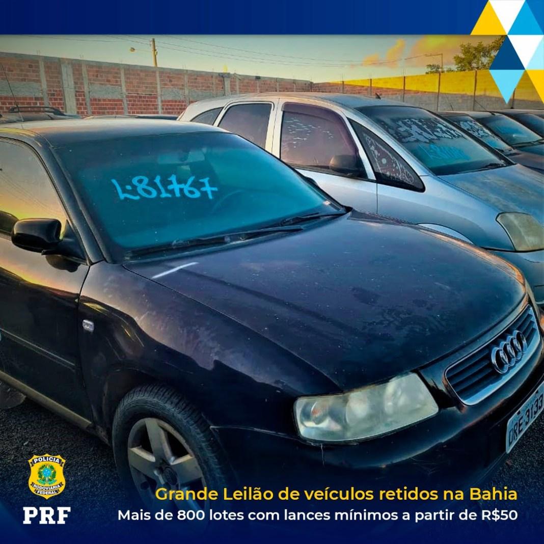 Leilão PRF
