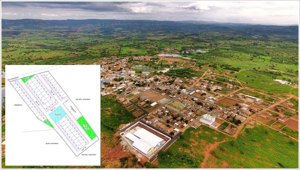 Programa da Prefeitura de Guanambi prevê doação de lotes à famílias carentes de Morrinhos