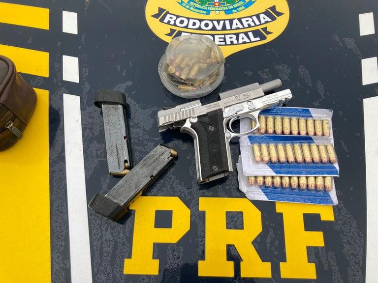 motorista pistola br-116 Feira de Santana