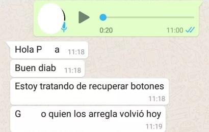 Botón antipánico: Mensajes por WhatsApp comprometen al Municipio