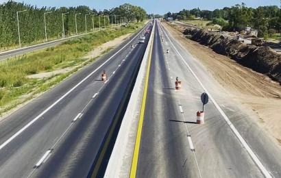Junín: Avanza la obra de la autopista de Ruta 7
