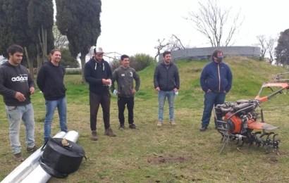 Funcionarios de Agricultura visitaron emprendimiento local