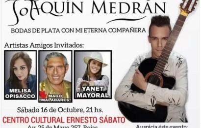 """Joaquín Medrán presenta """"Bodas de plata con mi eterna compañera"""""""