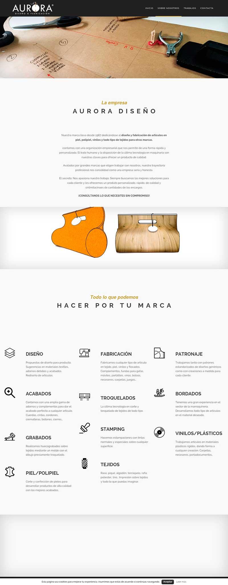 Agencia Sidecar aurora-diseno-creacion-web-wordpress-servicios Aurora Diseño