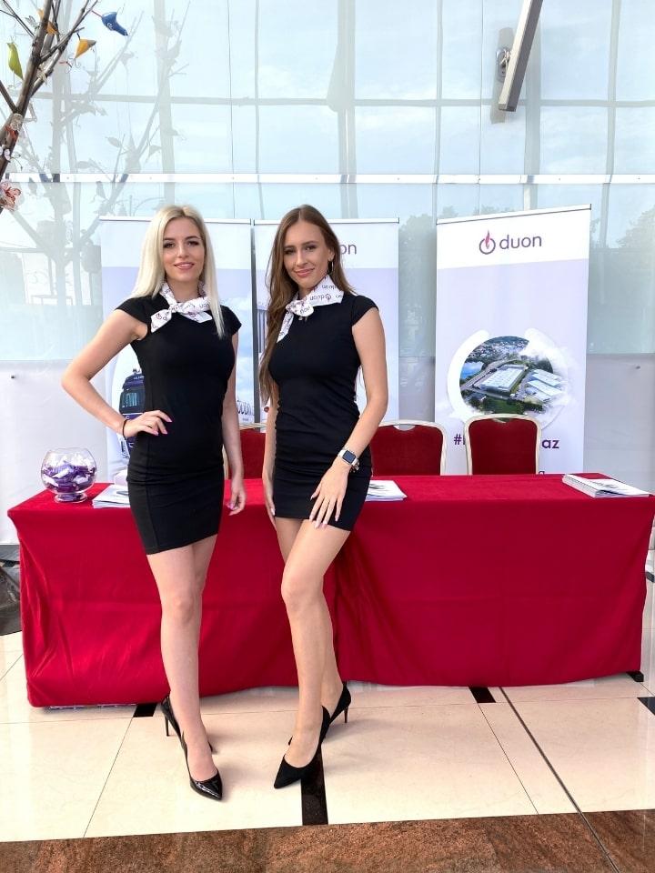 zespół hostess na kongresie branżowym
