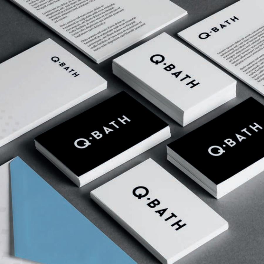 12 kompleksowa propozycja wykorzystania logo dla qbath