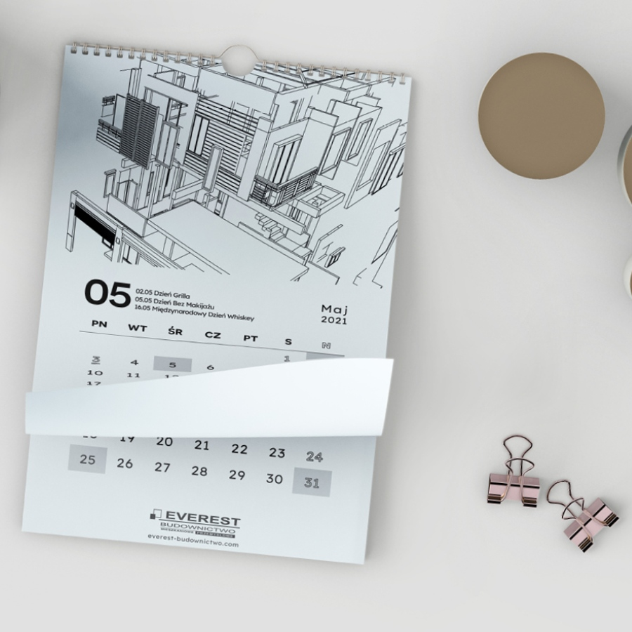 6 branding materialow promocyjnych dewelopera