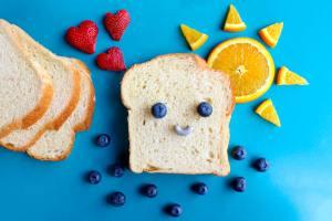 berries blueberries bread 708488