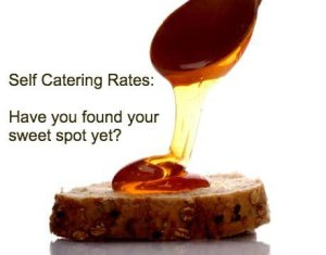 how to setting-self-catering-rates