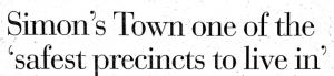 Simonstown safety