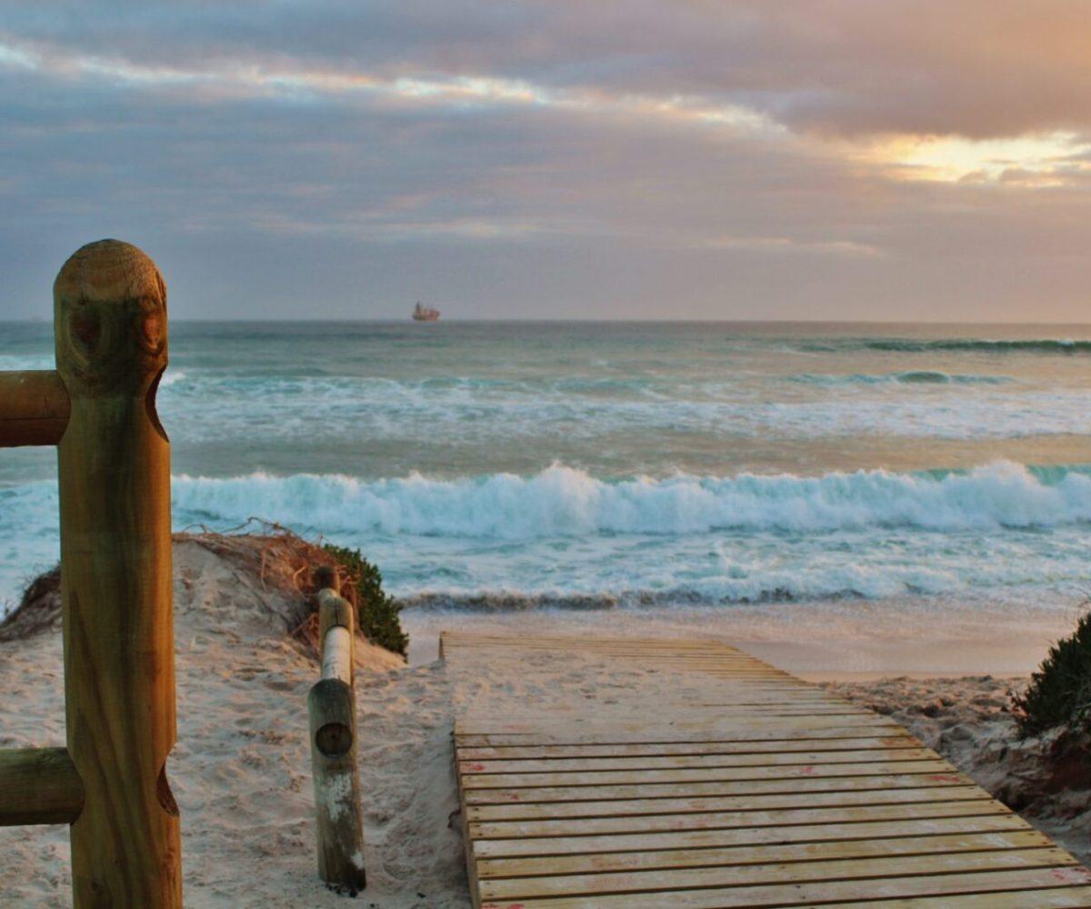 cape town, beach, sea