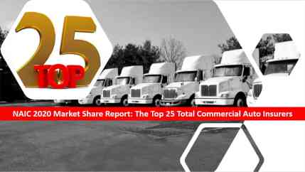 Agency Checklists lists of top commercial auto insurers in the us