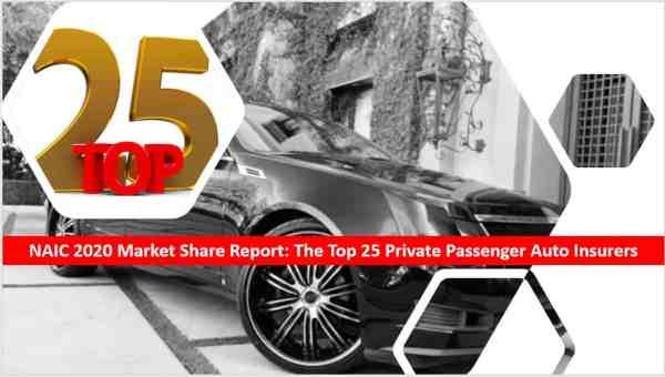 top 25 insurers commercial auto insurers