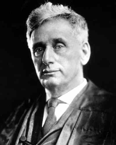Louis Brandeis founder of the Massachusetts life insurer SBLI