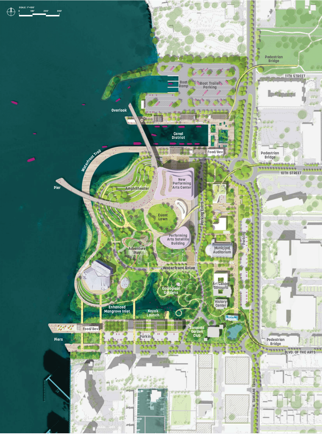 The Community Driven Sarasota Bayfront Master Plan