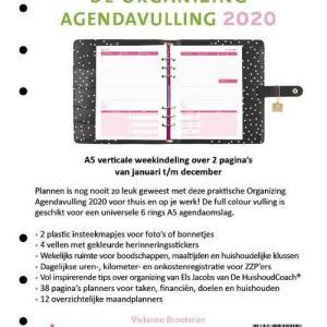 De Organizing Agendavulling 2020 A5