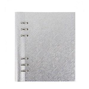 Filofax clipbook a5 clipbook - saffiano metallic silver (l.e.)