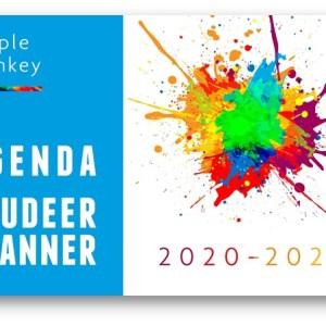 Purple Monkey Agenda en Studeerplanner