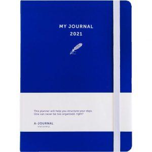My Journal Jaaragenda 2021 - Indigo blauw