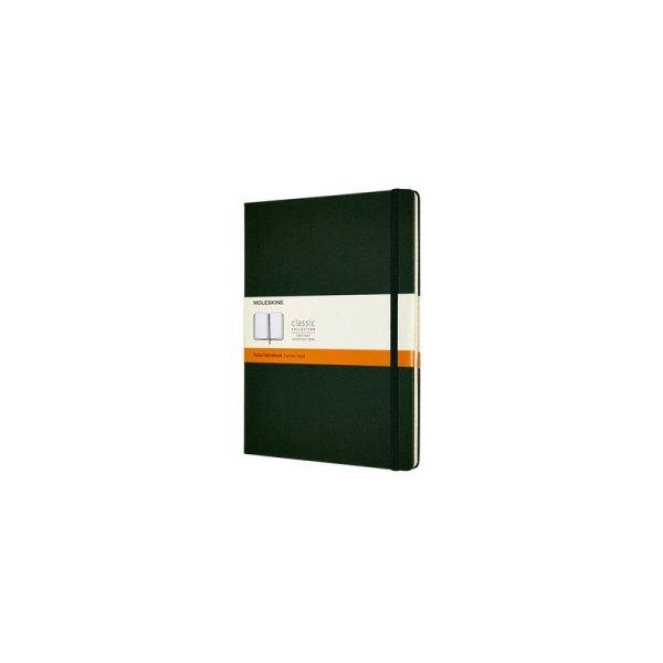 Notitieboek Moleskine XL 190x250mm lijn myrtle green