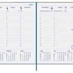 Agenda 2021 Ryam weekplan 7dag/2pagina's zwart
