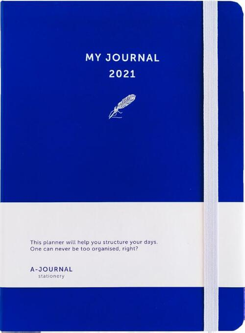 My Journal Agenda 2021 - Indigo Blauw