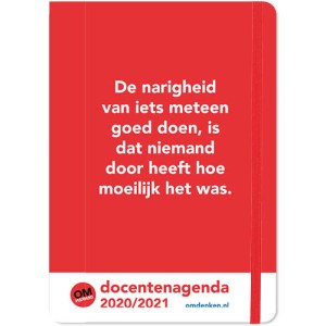 Omdenken Docentenagenda 2020/2021 A5