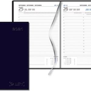 Gallery agenda Businesstimer, blauw, 2021