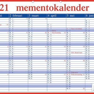 Aurora Memento 20 Nederlandstalig, 2021