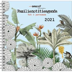 Familie notitieagenda 2021 Jungle