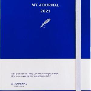My Journal Agenda 2021 - Indigo Blauw - Overig (8719992460717)
