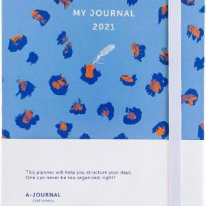 My Journal Agenda 2021 - Lavendel Luipaard - Overig (8719992460748)