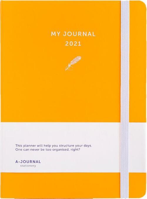 My Journal Agenda 2021 - Oranje - Overig (8719992460731)