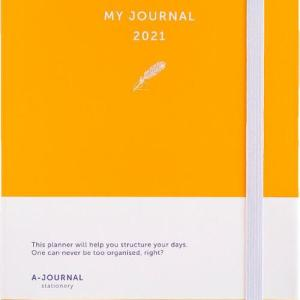 My Journal Agenda 2021 - Oranje - Overig (8719992460731)