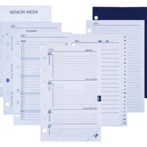 Agendavulling 2021 Kalpa senior jaardoos 7 dag/2 pagina
