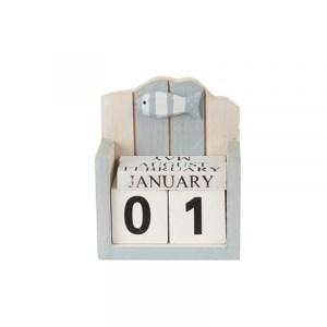 Eeuwig durende kalender serie grey/white