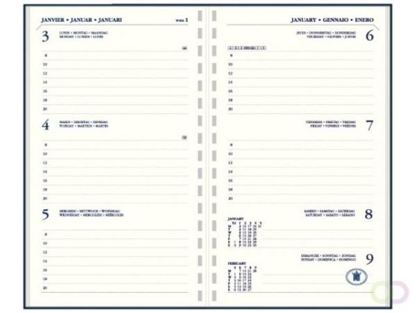Agenda 2021 Ryam memoplan 7 staand Suprema assorti