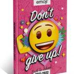 EMOJI Don't give up! Schoolagenda 2021/2022