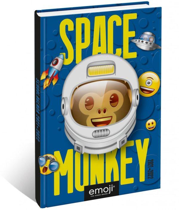 Emoji - Space Monkey Schoolagenda 2021/2022
