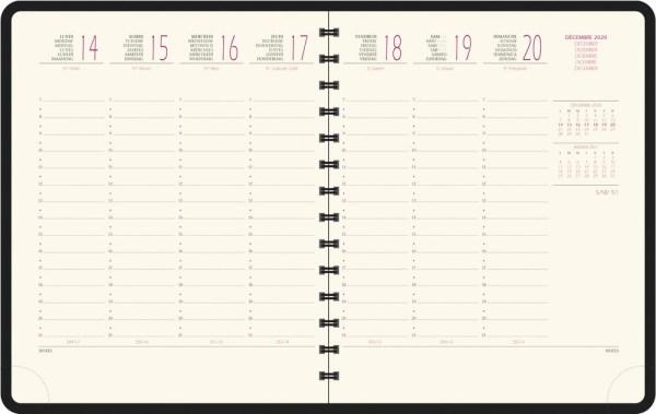 Exacompta bureau agenda Eurotime 18W Swan, geassorteerde kleuren 2022