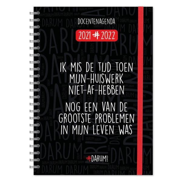 Darum Docentenagenda 2021-2022 - A4