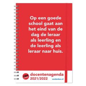 Omdenken Docentenagenda 2021-2022 - A4
