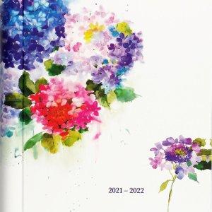Peter Pauper 18 maanden familie agenda 2021-2022 - Hydrangeas