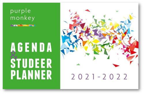 Purple Monkey Agenda en Studeerplanner - John Cliteur - Hardcover (9789081920360)
