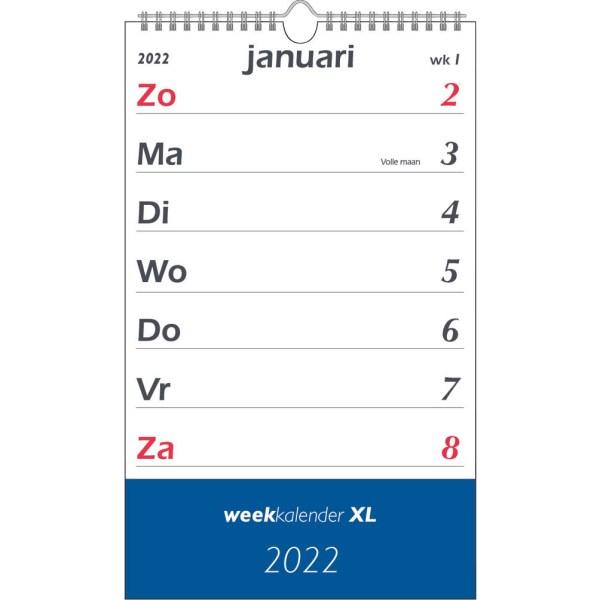 Weekkalender XL 2022
